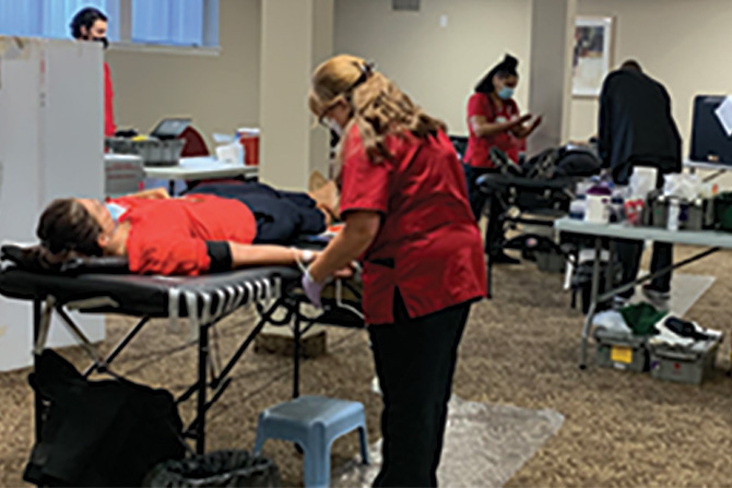 Giving-blood